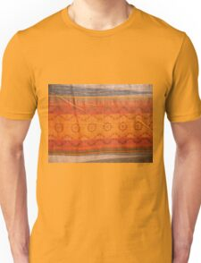 closeup pattern texture of general traditional textile style native from fabric  Unisex T-Shirt