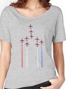 Red Arrows. Women's Relaxed Fit T-Shirt
