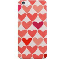 My Heart Beats Big and Red! iPhone Case/Skin