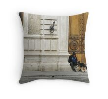 Glimpses of Italy II Throw Pillow