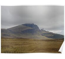 Old Man Of Storr, Isle Of Skye, Scotland Poster