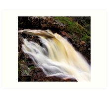Flow From The Blowhole. Art Print