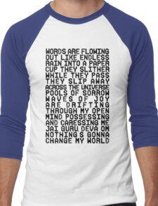 ACROSS THE UNIVERSE (black) Men's Baseball ¾ T-Shirt