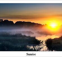 Sunrise by Lea Valley Photographic