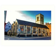 St Sampson Church - York Art Print