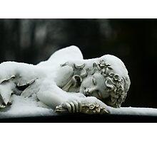 Sleeping Angel Photographic Print