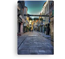 Stonegate - York Canvas Print