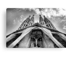 La Sagrada Familia Canvas Print