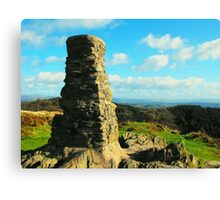 Trig Point over Windermere Canvas Print