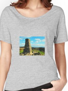 Trig Point over Windermere Women's Relaxed Fit T-Shirt