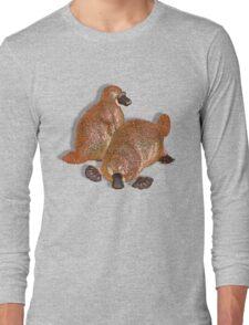 Duckbilled Platypus. Long Sleeve T-Shirt