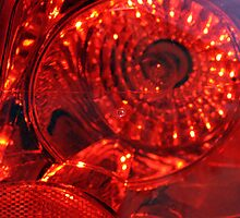 Red Eye Textured Tail Light by TeAnne