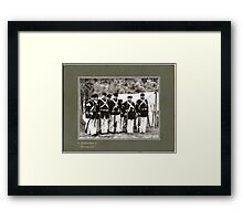 Inspection of the Ranks Framed Print