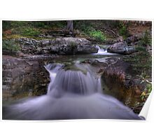 Sunrift Gorge and Barring Creek Poster