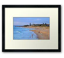 Back Beach, Bunbury, Western Australia Framed Print