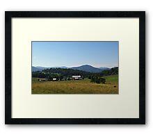 Virginia Farm Framed Print