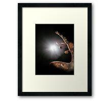 My Guiding Light Framed Print