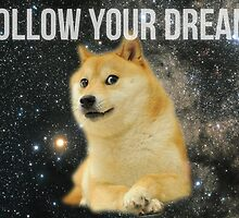 Follow Your Doge by dogeart