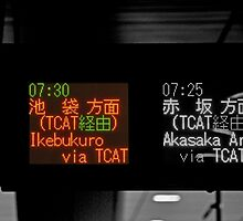 Autumn in Japan: Taking the 7:30 Bus to Ikebukuro by Jen Waltmon
