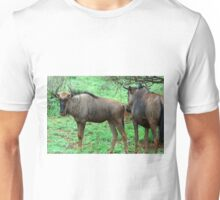 THE UGLY AND BEAUTIFUL BLUE WILDEBEEST (Connochaetes taurinus) Unisex T-Shirt