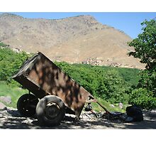 Rural scene in Atlas mountains Photographic Print