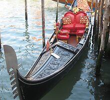Una Gondola a Venezia by Kymbo