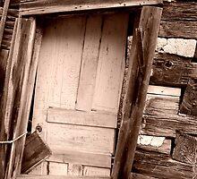 Door at Old Victoria by jrier