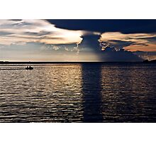 Get Home Before The Storm  Photographic Print