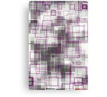 geometric abstract no.8 Canvas Print
