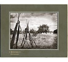 Stacked Muskets Photographic Print