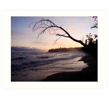 Sunrise over Lake Superior Art Print