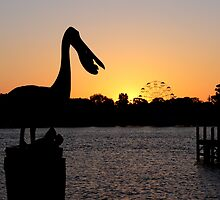 Mandurah Sunset by Hope Ledebur