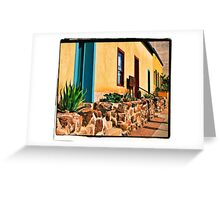 Old Town Tucson Greeting Card