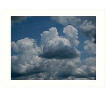 Mickey Mouse Clouds Art Print