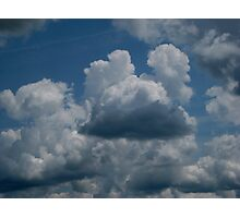 Mickey Mouse Clouds Photographic Print