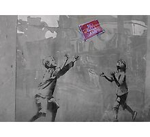 Banksy on the Street  Photographic Print