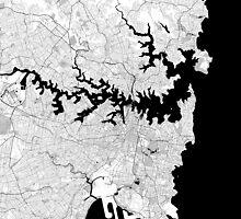 Map of Sydney by flashman