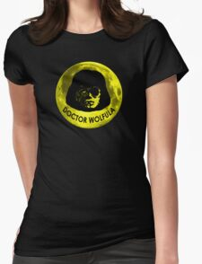 Dr. Wolfula Yellow Moon Design T-Shirt