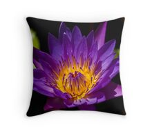 Water Lily IV Throw Pillow