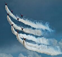 Red Arrows by Sarah Jones