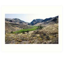"Central Oregon ""Picture Gorge"" Art Print"