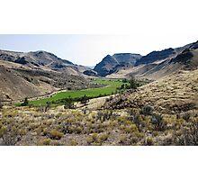 "Central Oregon ""Picture Gorge"" Photographic Print"