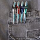 Pocketed Pens by Robert Armendariz