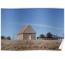 Tabernacle At Whitt, Texas Poster