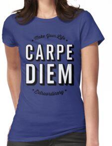 Carpe Diem. Womens Fitted T-Shirt