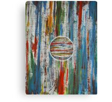 Primary Abstraction Canvas Print