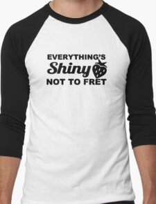 Everything's Shiny, Cap'n! Men's Baseball ¾ T-Shirt