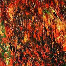 Forest Aflame by George Hunter