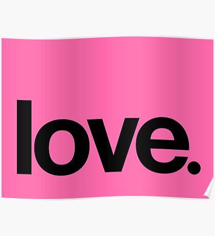 love.  Poster