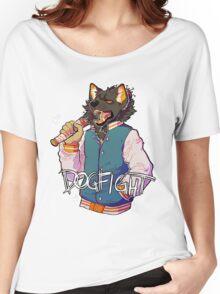 D O G F I G H T Women's Relaxed Fit T-Shirt